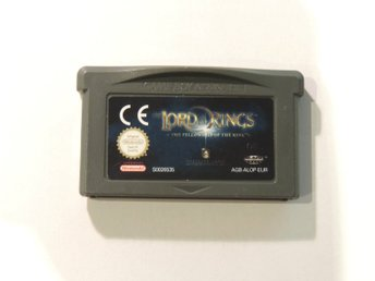 Lord of the Rings Fellowship of the Ring - Gameboy Advance