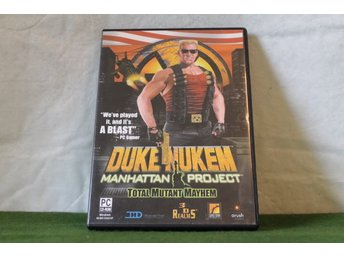 Duke Nuken Manhattan Project  pc-spel