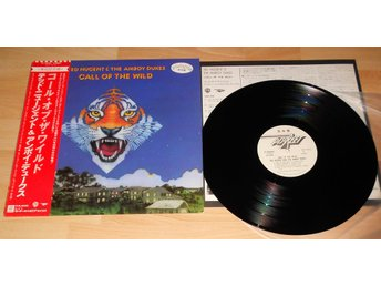 TED NUGENT & THE AMBOY DUKES - CALL OF THW WILD, JAPAN PROMO LP W. OBI+INSERT