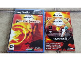 Avatar Legend of Aang Into the Inferno Playstation 2 PS2