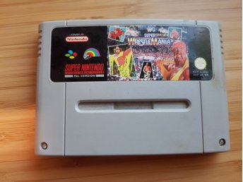 Super Nintendo SNES - Super Wrestle Mania