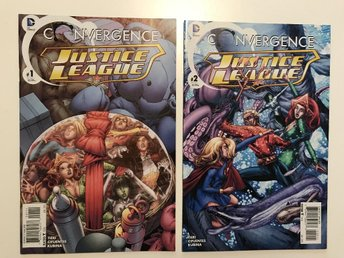 Javascript är inaktiverat. - Johanneshov - Convergence Justice League (2015) Complete 1-2 Rea 49sek!!! 2 issues for 49sek!!! Written by Frank Tieri. Art by Vicente Cifuentes. Cover by Mark Buckingham. STARRING HEROES FROM THE PRE-FLASHPOINT DCU! The Justice League story you never exp - Johanneshov