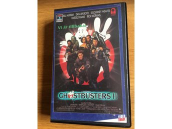 Ghostbusters II (VHS) *VideoTrade *Esselte Video *fd hyr