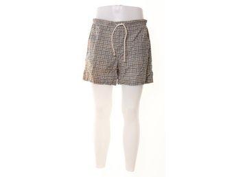 Jack & Jones, Shorts, Strl: L, Blå/Vit/Grön