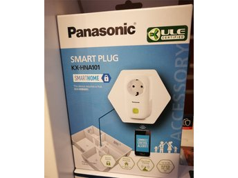 +++ Panasonic smart plug / vägguttag via wifi & app +++