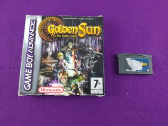 Gameboy Advance Golden Sun The Lost Age Box + Spel