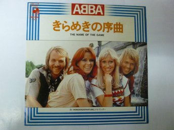 ABBA Single Japan original