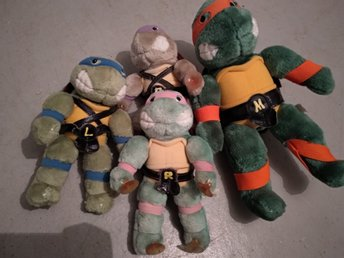 Turtles tmnt mjukdjur
