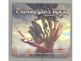 PROGRESSIVE ROCK TRILOGY (3-CD) SPECIAL COLLECTOR`S EDITION 24 BITS REMASTERED