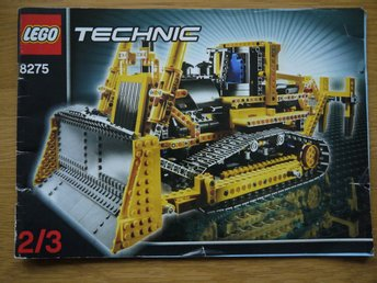 LEGO Byggmanual häfte 2 av 3 - Technic 8275 Motorized Bulldozer