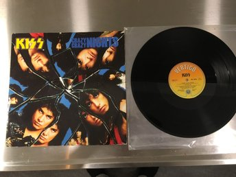 KISS / VINYL MAXI SINGEL / CRAZY CRAZY NIGHTS / LICK IT UP / KISS 712.