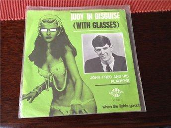 "John Fred & his Playboys-Judy in disguise-7"" single - örebro - John Fred & his Playboys-Judy in disguise-7"" single - örebro"