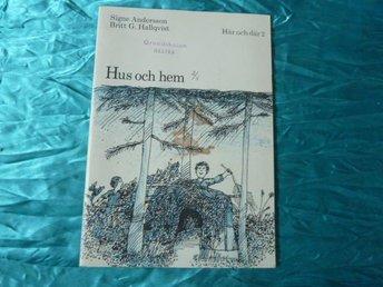 HUS OCH HEM, S. ANDERSSON & B. G. HALLQVIST, 1973, BÖCKER - Anderstorp - HUS OCH HEM, S. ANDERSSON & B. G. HALLQVIST, 1973, BÖCKER - Anderstorp