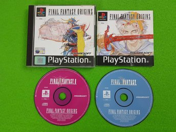 Final Fantasy Origins KOMPLETT I FINT SKICK Playstation ps1