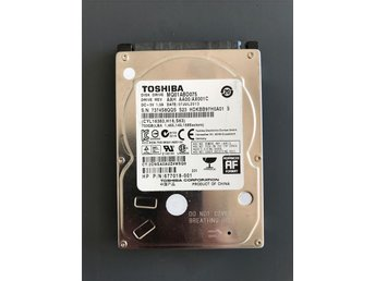 "Toshiba MQ1ABD075 750GB Internal 5400RPM 2.5"" HDD"