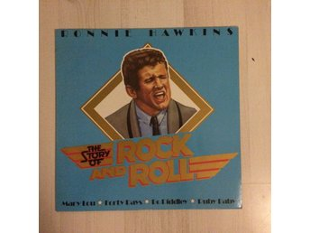 RONNIE HAWKINS - THE STORY OF ROCK AND ROLL.(NM LP)