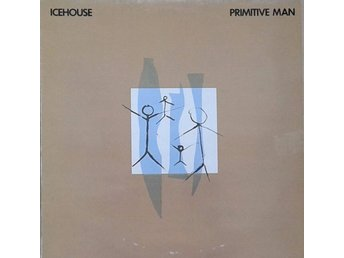 Icehouse title* Primitive Man* Synth-pop LP SWE