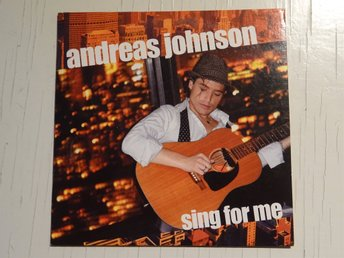 ANDREAS JOHNSON Sing for me Melodifestivalen 2006 CD Singel