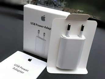 Original Apple USB Power Adapter (A1400) laddare - Förseglad förpackning