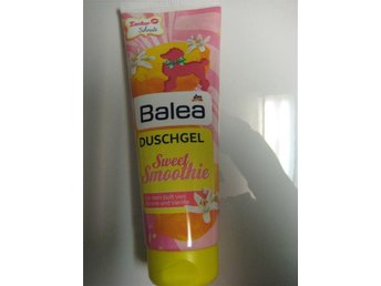 BALEA Body smoothie vanilj vanilla Citron lemon citrus