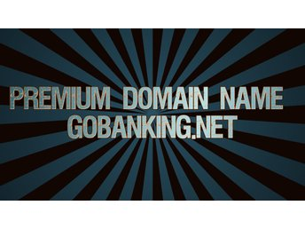Premium Domain Name Gobanking.net