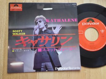 SCOTT WALKER - Kathalene Polydor Japan -67 singel