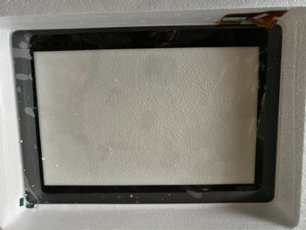 Glas touchscreen