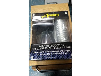 Apiro, Forced Induction Cold Air Kit, Universal, Luftfilter, Sportluftfilter