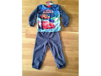 Cars Bilar fleece set stl 116
