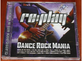 RE:PLAY DANCE ROCK MANIA, CD-SKIVA, REPLAY SAMLINGSSKIVA