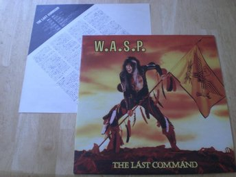 WASP - The Last Command (JAPANPRESS)  TOPPEX