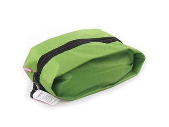 NY! Waterproof Travel skor shoes bag Green