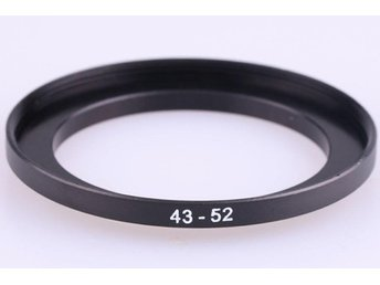 Step Up Ring 43 - 52 mm