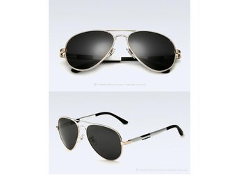 (SKU00138) VEITHDIA Polarized Men's Sunglasses (FrameGold)