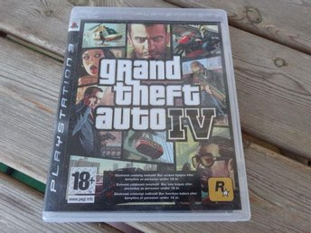 PS 3: Grand theft auto IV - GTA 4