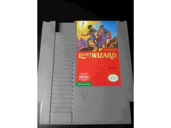 NES - Legacy Of The Wizard - Nintendo - NES-LC-USA