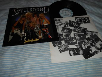 SPELLBOUND - Rockin' Reckless (LP)  sv metal VG+/VG+