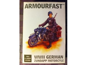 Armourfast: WWII German Zundapp Motorcycle (1/72)