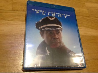 Flight på blu-ray med denzel Washington.