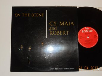 CY, MAIA and ROBERT - On the scene, folk LP Sonet Danmark 1966 Paul Simon covers