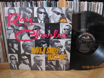 Ray Charles - Have a smile with me, SWE lp 1964