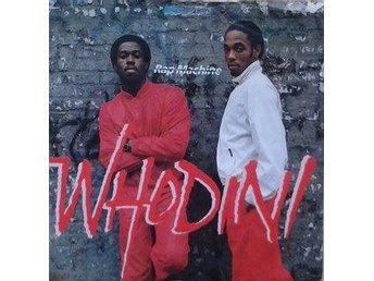Whodini title* Rap Machine* 80'sHip-Hop UK  7""