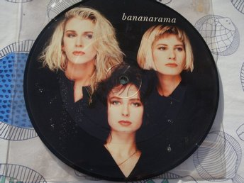 "BANANARAMA - TRICK OF THE NIGHT 7"" PICTUREDISC"