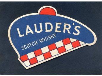 LAUDERS Dubbelsidigt whisky-underlägg i form av mössa - Lenhovda - LAUDERS Dubbelsidigt whisky-underlägg i form av mössa - Lenhovda