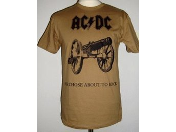 "Javascript är inaktiverat. - Göteborg - AC/DC ""For Those About to Rock We Salute You "" Ny tröja med snyggt tryck. - Göteborg"