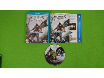 Assassins Creed 4 Black Flag Nintendo WiiU wii u IV