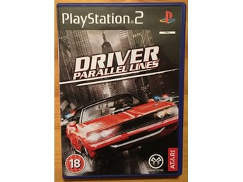 Driver: Parallel Lines (PS2 PAL BEG!)