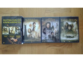 DVD-box: Sagan om Ringen-trilogin Härskarringen 3 DVD