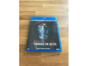 Metallica: Through the Never 3D+2D (Blu-ray)