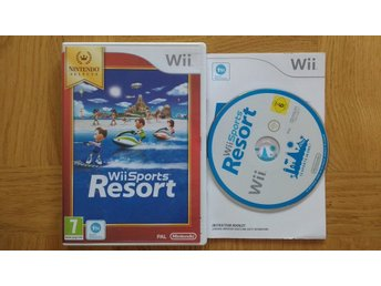 Nintendo Wii: Wii Sports Resort (kräver motion plus)
